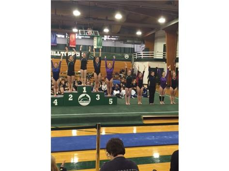 Floor - Clare Webster 9th, Becky Donnelly 5th