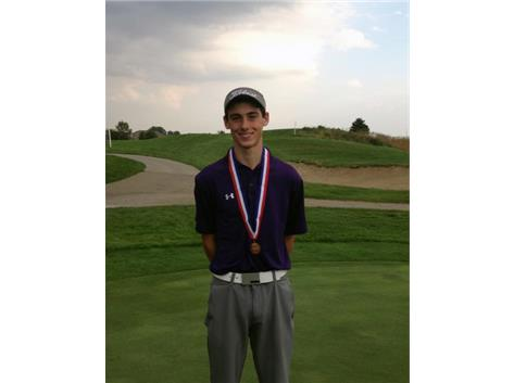 5th place Golf State Medalist