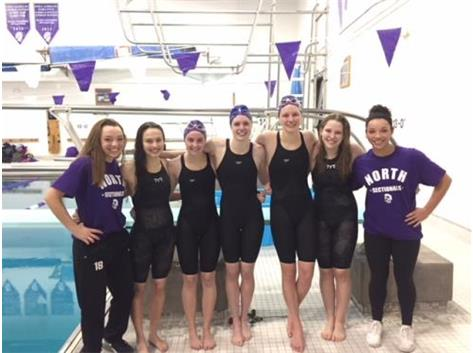 Our 2017 STATE TEAM! Mia Marconi, Liz Candel, Ellie Benge, Emma Roche, Jaye Sevcik, Libby Benge and Madison Johnson