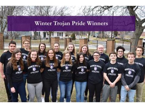 2017-18 Winter Trojan Pride Winner