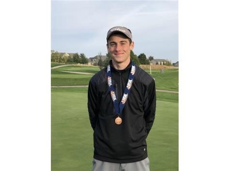 Aidan Lafferty - IHSA State Medalist - 3rd place