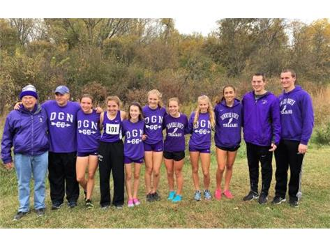 Girls Cross Country - IHSA State Qualifying Team