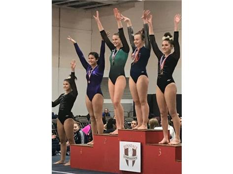 Gretchen Lucina - 4th on beam