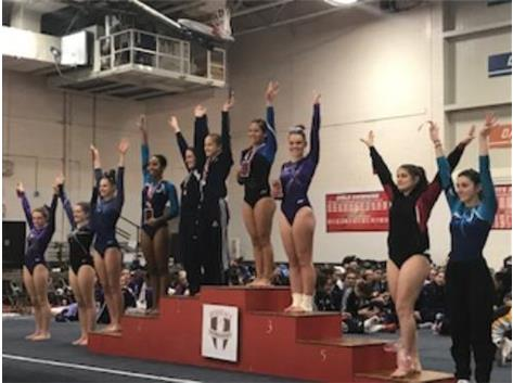 Janae Small 3rd, Kate Murray 10th in the All Around