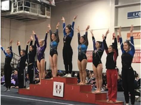 Mia Bowers - 4th place Balance Beam