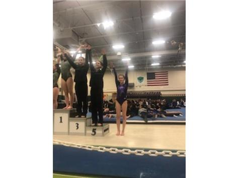 Ashley Novak - 6th place all around