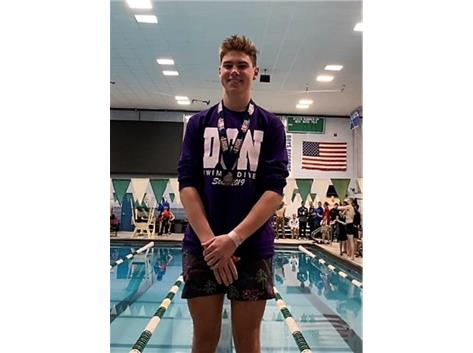 Congratulations Kevin Sullivan 2nd place - IHSA State Diving