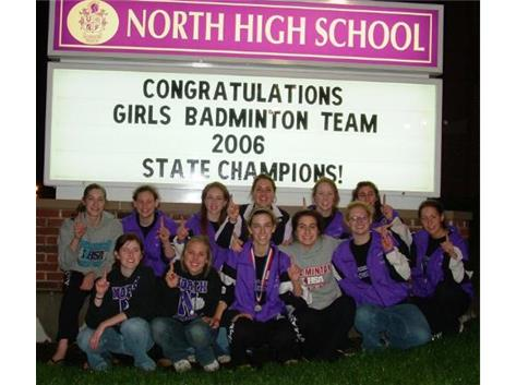 2006 State Badminton Champs