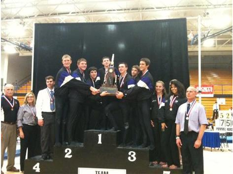 Congratulations to the  Gymnastics Team for placing Third in IHSA State Team Meet