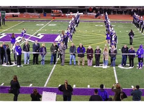 North High Field Dedication