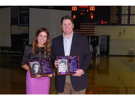 Hall of Fame Inductees 2012 - Elizabeth Tumpach & Mark Zundel