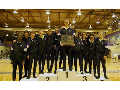 Congratulations Boys Gymnastics Sectional Champions!