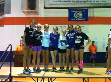 JV team finishes 1st!