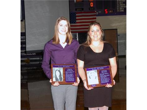Congratulations Allison and Laura - Hall of Fame Winner 2013