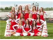 Varsity Football Cheerleaders