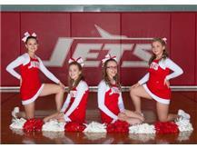 7th Grade Basketball Cheerleaders