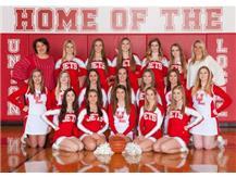 HS Basketball Cheerleaders