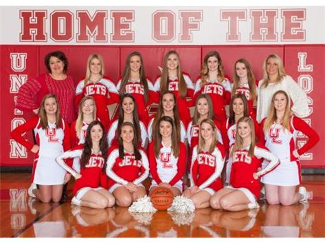 HS Basketball Cheerleaders