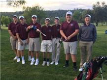 The boys golf team wins at Coldsprings CC to wrap up match play!