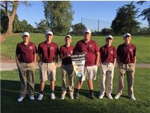 The varsity golfers win SVC at Ancil Hoffman GC. For the first time in UM boys golf, The 2016  team went undefeated!