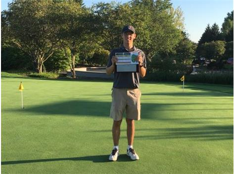 Masato Keeley was named to the All County Golf Team for shooting an 83 at the event that was held at Lincolshire Fields Country Club on September 16.