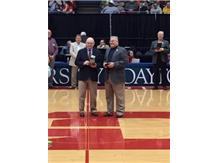 Thanks to Mike Melvin for over 25 years volunteering for the Athletic Department