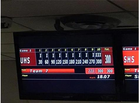 300 baker game followed by a 278 baker game. 20 strikes in a row!