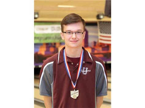 Luc Russell 2017 Bowling State Champion
