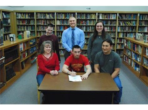 Mitchell Moyer signs to play Football at Otterbein University