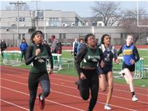 Tashia Jordan and Jada Sidney lead the way.
