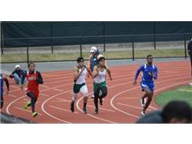 Charles Stamps, Jr. and Geron Parks - 100m Dash