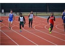 De'Jon McAdory and Geron Parks - 200m Dash