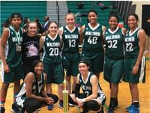 2018 Girls' Basketball Thanksgiving Tournament Champions