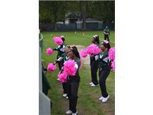 2019 Cheerleaders on Pink Day