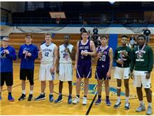 Christmas All-Tourney Team: Justin Ford and Elgin Bowen