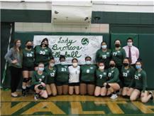 2021 Girls Volleyball Team