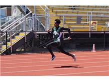 Junior Austin Knight 4x2 relay anchor - 1st place