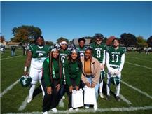 2021 Senior Day - Football and Cheerleaders