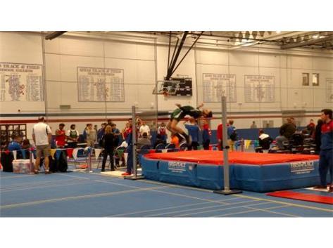 Senior Sam Miller - High Jump