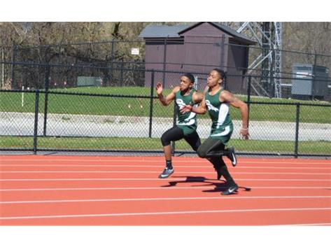 Charles Stamps and Geron Parks - 200m Dash