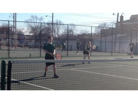 Tyson Robarge and Molly Telow - doubles