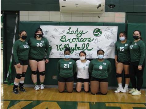 2021 Senior Girls Volleyball