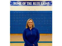 New Blue Lion Athletic Trainer Morgan Holmes
