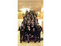 """The Waukegan High School JROTC Varsity Bulldog Drill Team took first place at the Annual Purdue Army ROTC Drill Meet on Saturday, February 8, to highlight a successful day for WHS students at the competition.  In addition to a first place showing among JROTC varsity drill teams, the WHS JV Drill Team took home second place. Additionally, the Drill Team's Color Guard took fourth place in its competition.  The team also saw individual success, as Freshman Aileen Ponce finished 6th and Senior Emily Morales finished 7th out of more than 300 competitors in the Unarmed Tap-Out Competition.     """"Everyone is very proud of the cadets' performance. Each group did a wonderful job wowing the judges, and representing Waukegan High School ,"""" said Varsity Drill Team Coach 1st Sgt. Lloyd Cunningham.  The varsity team is commanded by Emily Morales. Other team members include: Alejandra Reyes, Alejandro Guerrero, Ruby Alvarez, America Vera, Ashley Basco, Eunylda Mari, Isabel Quirino, Ivan Quirino, Jose Rojas, Jocelyn Zamudio, Mariah Manning, Michael Moore, Janine Papa and Austin Christensen.  Junior varsity commanders are Nancy Carrillo and Marco Arceo. Team members include: Gabriela Garcia, Evelin Leguizamo, Elssie Andino, Cristian Reyes, Diana Sosa, Juliana Angel, Marilyn Figueroa, Luz Salomon, Aileen Ponce, Maureen Dudley and Rachel Dudley."""