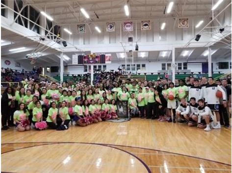 2019 9th Annual Pink-out Game with Lake Zurich