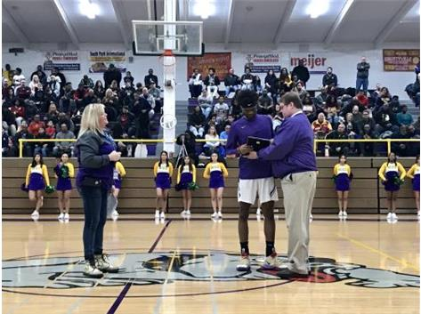 Congratulation Bryant Brown, Waukegan's all time leading scorer!!!