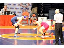 Johnny Acevedo in IHSA State action!