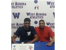 Jared Crutcher signs to play Basketball at Lewis University!
