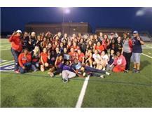 Girls Track wins UEC Title!