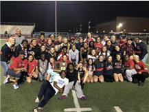 Girls Track Wins the Sectional Title!